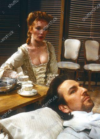 Alan Rickman. Lindsay Duncan
