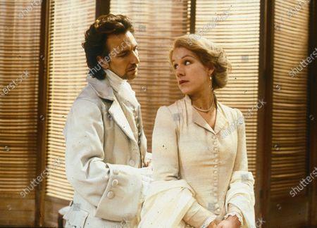Stock Image of Alan Rickman. Juliet Stevenson