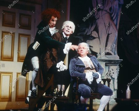 Editorial picture of 'The Critic' Play performed at the National Theatre, London, UK - 1985