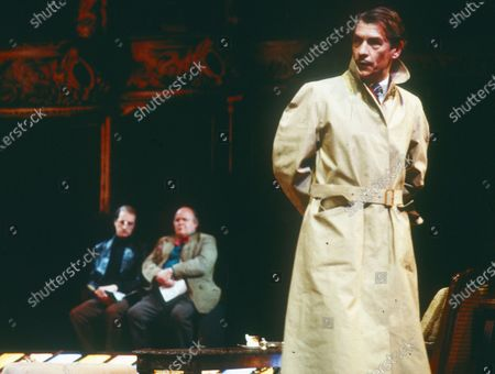 Editorial picture of 'The Real Inspector Hound' Play performed at the National Theatre, London, UK - 1985