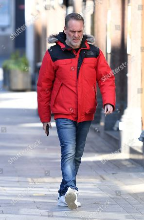 Stock Photo of Chris Moyles at Global House