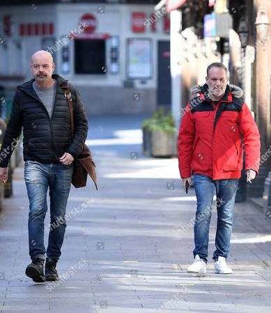 Editorial picture of Chris Moyles out and about, London, UK - 25 Mar 2020