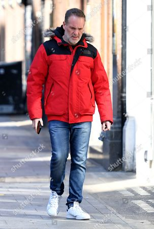 Editorial photo of Chris Moyles out and about, London, UK - 25 Mar 2020