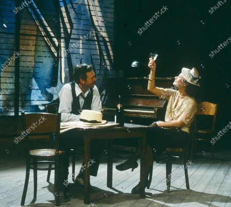 Editorial image of 'The Time of Your Life' play performed by the Royal Shakespeare Company, UK - 1983