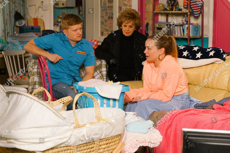 Ep 10047 Friday 10th April 2020 Gemma Winter, as played by Dolly-Rose Campbell, returns home and finally admits to Chesney Brown, as played by Sam Aston, that she thinks she's a terrible mother and no longer feels in control. With Rita Tanner, as played by Barbara Knox.