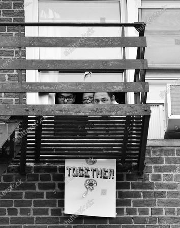 Editorial photo of Exclusive - 'Words At The Window: Social Isolation And The Coronavirus', Portrait Project, Brooklyn, New York, USA - 23 Mar 2020