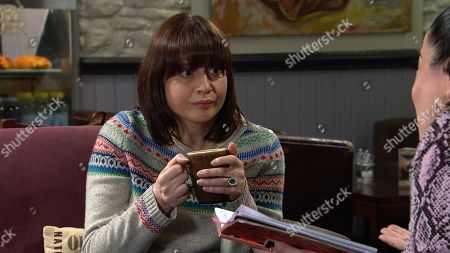 Ep 8775 Friday 10th April 2020 With Lydia Hart, as played by Karen Blick.