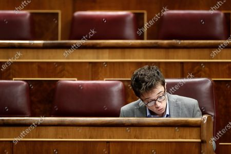 Editorial photo of Spanish parliament to decide on coronavirus-induced state of emergency extension, Madrid, Spain - 25 Mar 2020