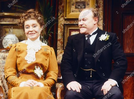 Prunella Scales. Timothy West