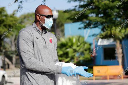 Editorial picture of Virus Outbreak Florida, Miami, United States - 25 Mar 2020