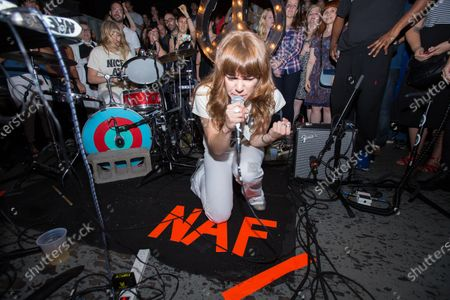 Editorial picture of Nice As Fuck in concert at Rough Trade, Brooklyn, New York - 31 Jul 2016