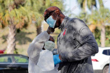 Editorial photo of Virus Outbreak Florida, Miami, United States - 25 Mar 2020