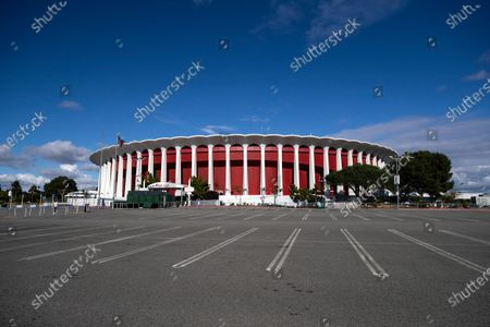 Stock Picture of The multi-purpose indoor venue The Forum in Inglewood, California, USA, 25 March 2020. Steve Ballmer, owner of the NBA team the Clippers', has reached an agreement to purchase The Forum for 400 million US dollars in cash, clearing the biggest obstacle in the franchise's way of building a new arena in the area.