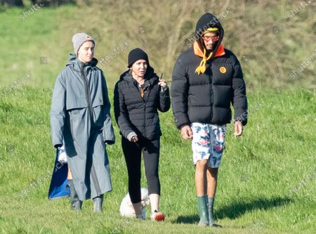 Editorial image of Sadie Frost and family out and about, Cotswolds, UK - 22 Mar 2020