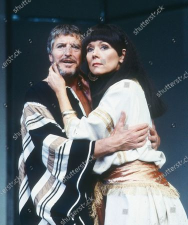 Denis Quilley. Diana Rigg