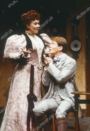 Joan Plowright and Mark Payton