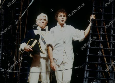 Frank Finlay and David Essex
