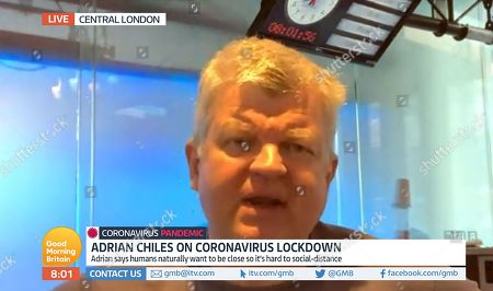 Stock Image of Adrian Chiles