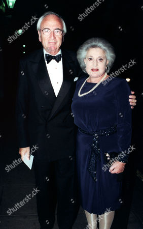 Lord Young And Lady Lita Young Arrive At The Savoy Hotel In London This Evening (tuesday) For The First Carlton Political Dinner Lord Young Of Graffham.