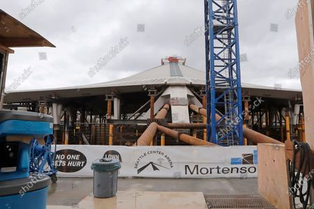 Editorial photo of Arena Construction Hockey, Seattle, United States - 27 Mar 2020