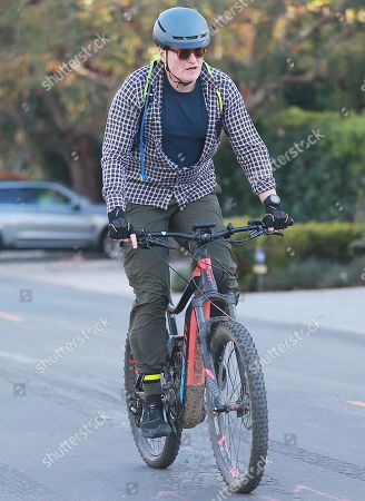 Editorial picture of Conan O'Brien out and about, Los Angeles, USA - 27 Mar 2020