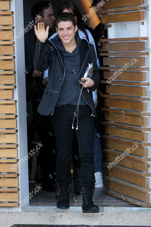 Editorial photo of X Factor finalists leaving the X Factor house, London, Britain - 10 Dec 2009