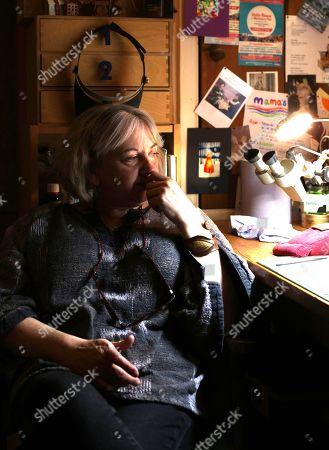 Editorial image of Nell Mckay Miniature art, Cornellieson Gallery, Pickering, Yorkshire, UK - Mar 2020