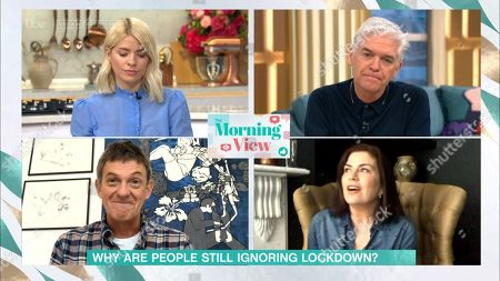 Holly Willoughby, Phillip Schofield, Matthew Wright and Amanda Lamb