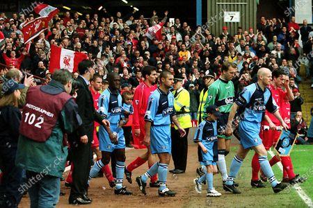 Editorial picture of Wycombe Wanderers v Liverpool, AXA FA Cup Semi-Final, Football, Villa Park, Birmingham, West Midlands, United Kingdom - 08 Apr 2001