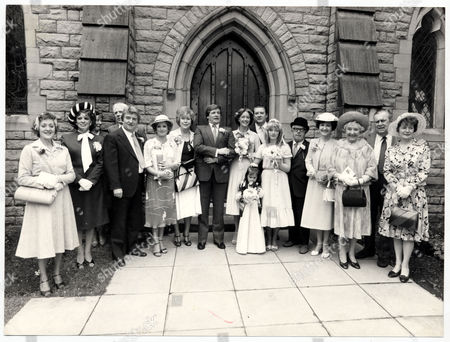 Television Programme : Coronation Street (1981) Picture Shows The Wedding Of Ken Barlow And Deirdre Langton. (l-r) Mavis Riley (thelma Barlow) Elsie Tanner (patricia Phoenix) Len Fairclough (peter Adamson) Rita Fairclough (barbara Knox) Blanche Hunt (maggie Jones- Died 2/12/2009) Ken Barlow (william Roache) Deirdre Barlow (anne Kirkbride) Tracy Langton (christabel Finch) Alf Roberts (bryan Mosley) Susan Barlow (suzy Patterson) Albert Tatlock (jack Howarth) Emily Bishop (eileen Derbyshire) Annie Walker (doris Speed) Stan Ogden (bernard Youens) And Hilda Ogden (jean Alexander).