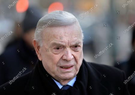 Jose Maria Marin, of Brazil, arrives to federal court in the Brooklyn borough of New York. Marin, the former head of Brazilian soccer, was granted compassionate release from a U.S. federal prison, amid the new coronavirus pandemic, his sentence cut short by about eight months. Marin was sentenced to four years in prison in August 2018 for his participation in a scheme to accept bribes in exchange for the media and marketing rights to soccer tournaments