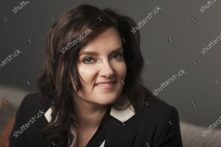"""Brandy Clark poses in Nashville, Tenn., to promote her third album """"Your Life is a Record"""