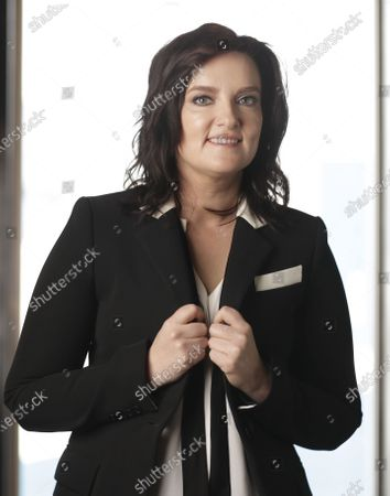 """Stock Image of Brandy Clark poses in Nashville, Tenn., to promote her third album """"Your Life is a Record"""