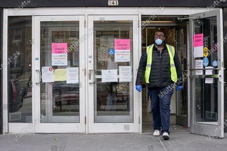 Editorial picture of Virus Outbreak-Wisconsin Legislature, Milwaukee, United States - 31 Mar 2020