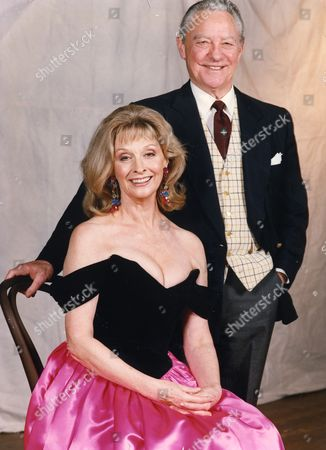 Richard Todd (died 4/12/2009) Pictured With Nyree Dawn Porter