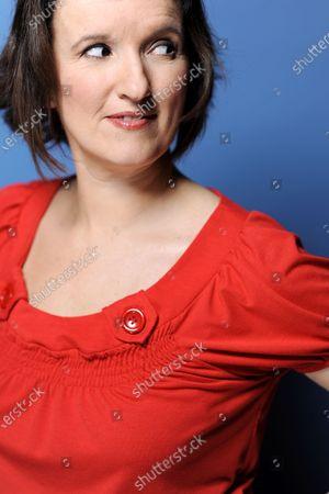 Stock Photo of Anne Roumanoff