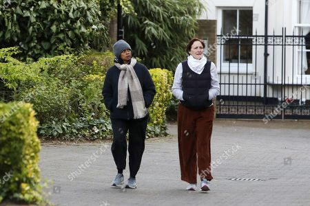 Exclusive - Fiona Shaw and wife Sonali Deraniyagala