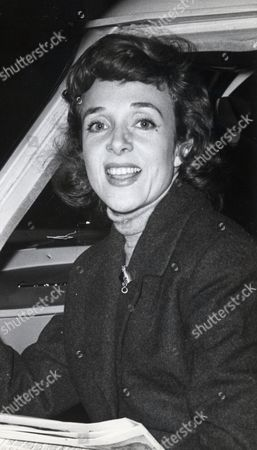 Micheline Presle French Actress Pictured In Edinburgh