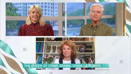 Holly Willoughby, Phillip Schofield and Lynda La Plante