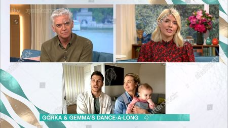 Phillip Schofield, Holly Willoughby, Gorka Marquez and Gemma Atkinson
