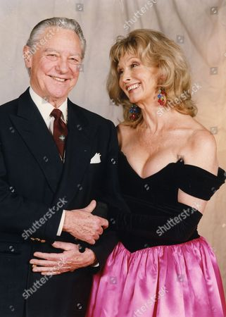 Richard Todd (died 4/12/2009) Pictured With Nyree Dawn Porter.
