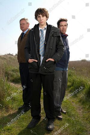 Martin Clunes as Ben, Alexander Armstrong as Jamie and Paul McGann as David..