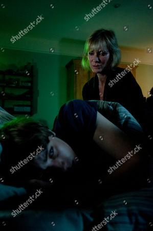 Hermione Norris as Rosie and Alexander Armstrong as Jamie.