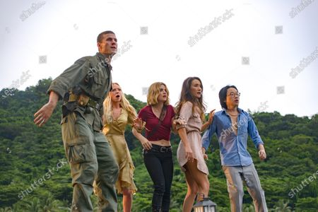 Austin Stowell as Patrick Sullivan, Portia Doubleday as Sloane Maddison, Maggie Q as Gwen Olsen, Lucy Hale as Melanie Cole and Jimmy O. Yang as Brax Weaver
