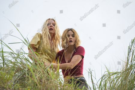Stock Photo of Portia Doubleday as Sloane Maddison and Lucy Hale as Melanie Cole