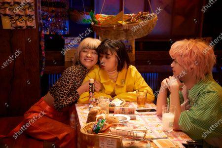Stock Picture of Miki Nakatani as Limi Nara and Elaiza Ikeda as Natsume Hyakuta