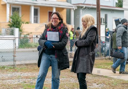 Liz Garbus Director and Amy Ryan as Mari Gilbert