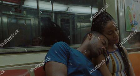 Joshua Boone as Isaiah and Zora Howard as Ayanna