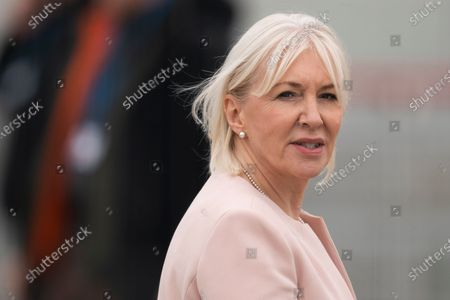 British MP Nadine Dorries attends the opening of the NHS Nightingale Hospital  at the ExCel conference center in London, Britain, 03 April 2020. The first temporary hospital is opened to take care of coronavirus COVID-19 patients and is able to treat up to 4,000 patients. Countries around the world are taking increased measures to stem the widespread of the SARS-CoV-2 coronavirus which causes the Covid-19 disease.