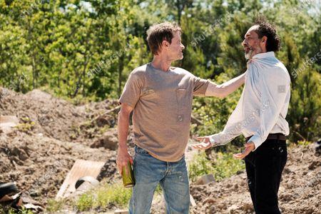 Shea Whigham as The Man and Bruno Bichir as David Martín